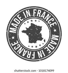 Made in France Quality Original Stamp Design Vector Art