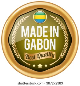 made in gabon icon