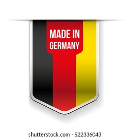 Made in Germany flag ribbon