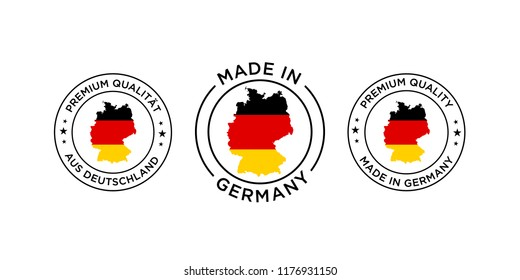 Made in Germany logo quality label icon