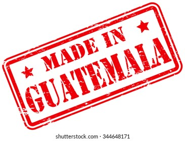 Made in Guatemala Rubber Stamp