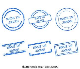 Made in Japan stamps