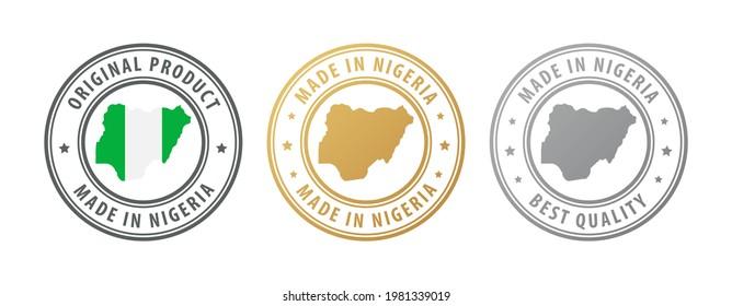 Nigeria Flag Button Images, Stock Photos & Vectors | Shutterstock