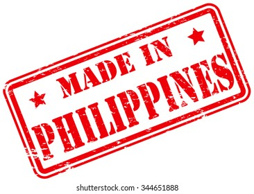 Made in Philippines Rubber Stamp