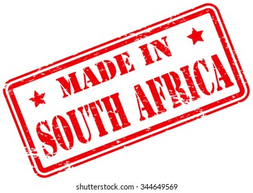 Made in South Africa Rubber Stamp