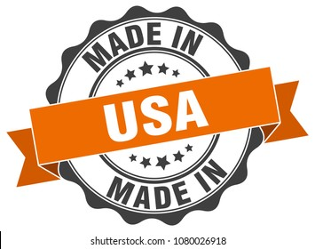 made in usa round seal