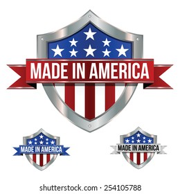 Made in the USA - Shield