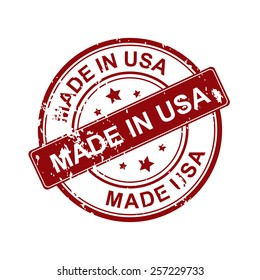 Made in USA stamp