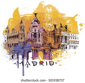 Madrid Sketch