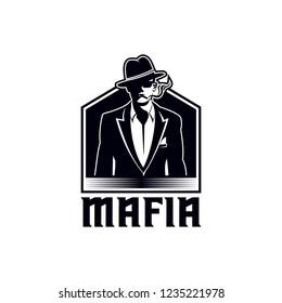 mafia vector illustration