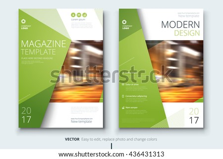 Magazine template corporate business design brochure stock vector magazine template corporate business design for brochure annual report catalog layout with accmission Image collections