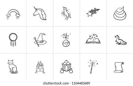Doodle Wizard Images, Stock Photos & Vectors | Shutterstock