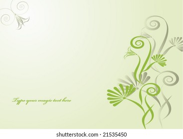 magic flowers for your text