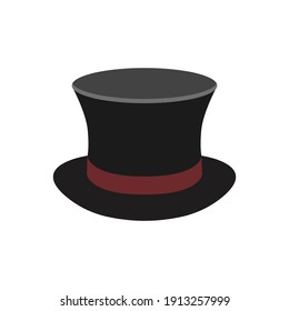 magic hat icon of color style  design vector template