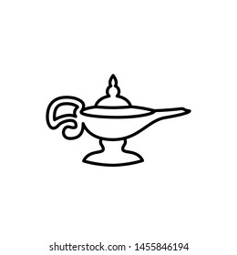 magic lamp icon design template
