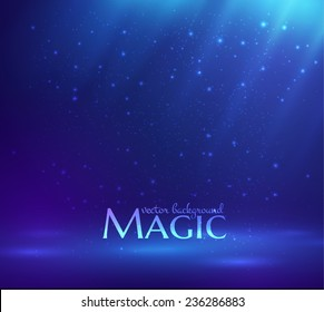 Magic light vector background. Eps10.