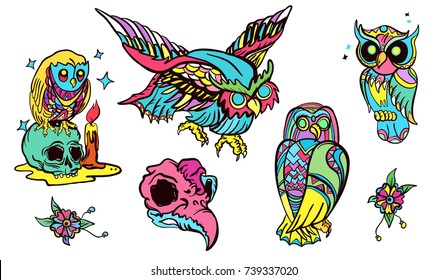 Tattoo Flash Images, Stock Photos & Vectors | Shutterstock