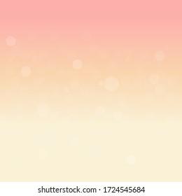 Magic Sunset Sky With The Boken Stars Wallpaper Background Light Beige Dark Beige Pink  Gradation
