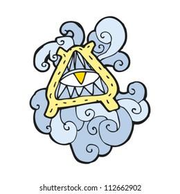 magic symbol cartoon
