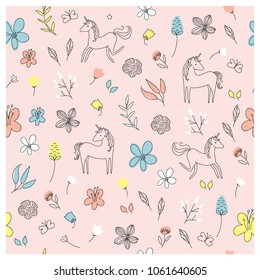 MAGICAL FANTASY UNICORN PATTERN