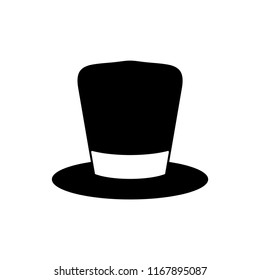 Magical hat icon vector
