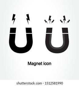Magnet icon design vector illustration