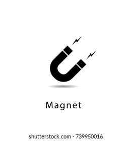 Magnet icon vector illustration.