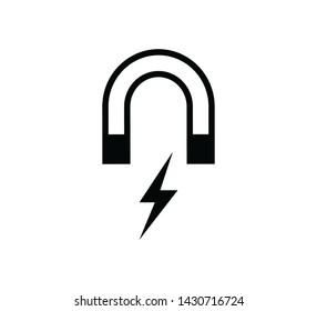 Magnet icon vector symbol illustration