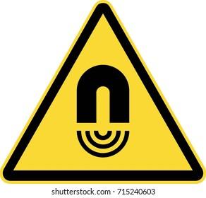 Magnetic field warning