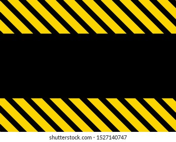 Magnificent background with black and yellow stripes