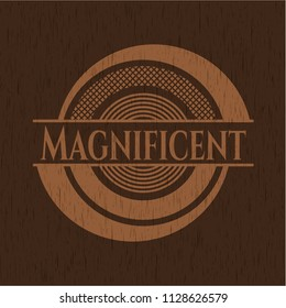 Magnificent wood emblem