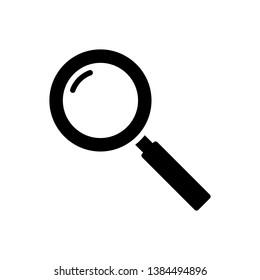 Magnifier Icon Vector Illustration Logo Template