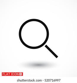 Magnify line vector icon