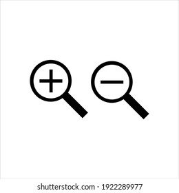 Magnifying Glass Icon design vector