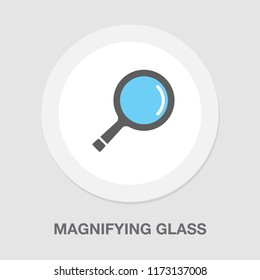 magnifying glass icon - search symbol - zoom button