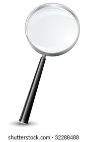 Magnifying glass - no mesh