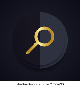 Magnifying glass or search icon