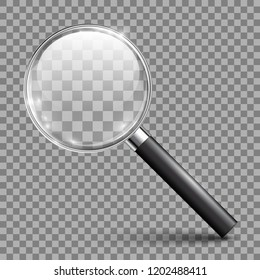 Magnifying glass tool with shadow