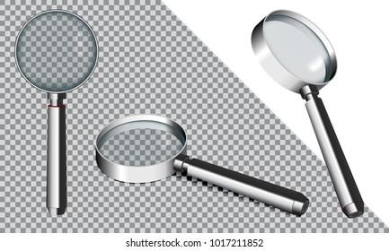 Magnifying glass vector illustration.EPS10.