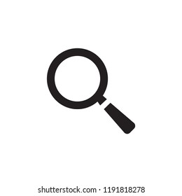 Magnifying, magnify glass, find icon vector, lens, look magnifier, loupe sign. find icon vector. Glass symbol. Linear style sign for mobile concept and web design. Magnify symbol illustration.