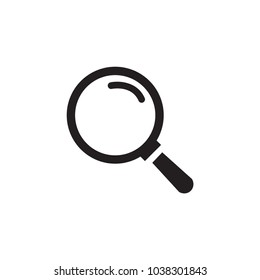 Magnifying,magnify glass,research,find icon vector,lens,look magnifier.loupe sign. Best modern flat pictogram illustration sign for web and mobile apps design