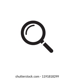 Magnifying,magnify glass,research,find icon vector,lens,look magnifier.loupe sign. Best modern flat pictogram illustration sign for web.