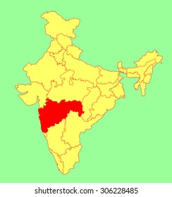 Map Bombay Images Stock Photos Vectors Shutterstock