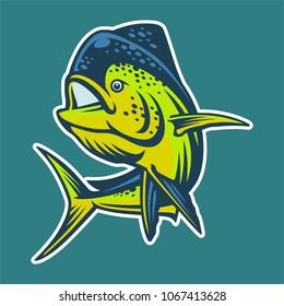 Mahi mahi pelagic fish