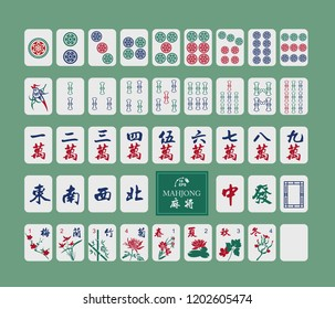 picture about Mahjong Card Printable identified as Mahjong Tiles Shots, Inventory Shots Vectors Shutterstock