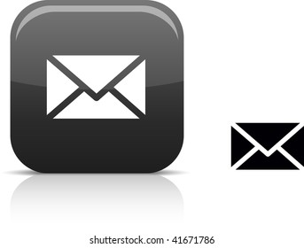 mail beautiful icon. Vector illustration.