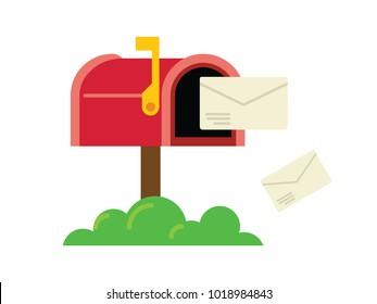 Mail Box Illustration