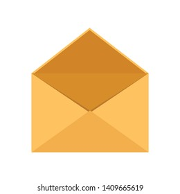 Mail Envelope. Delivery of correspondence or office documents