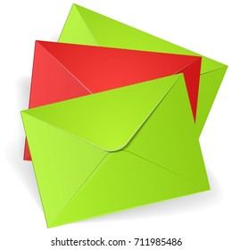 Mail envelope illustration