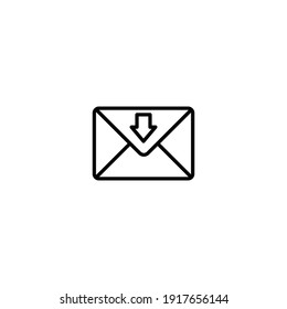 Mail icon, envelope icon, Message icon vector for web, computer and mobile app